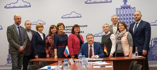 Сотрудничество Родительского Кафе городов Архангельска и Эмдена продолжается